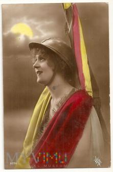 Belgia-Pocztówka Partiotyczna.1913.a