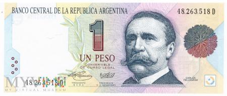 Argentyna - 1 peso (1994)