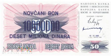 Bośnia i Hercegowina - 10 000 000 dinarów (1993)