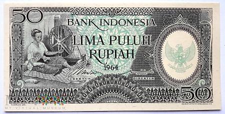 Duże zdjęcie 50 rupii 1964