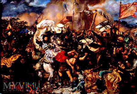 Magnes z obrazem Matejki Bitwa pod Grunwaldem