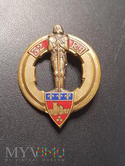 Pamiątkowa odznaka 32 Pułku Artylerii - Francja