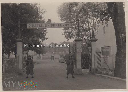 Wehrmacht w koszarach 2 Batalionu Panc.Żurawica