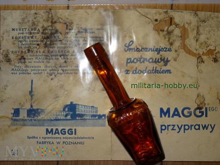 Buteleczka z reklamą Maggi