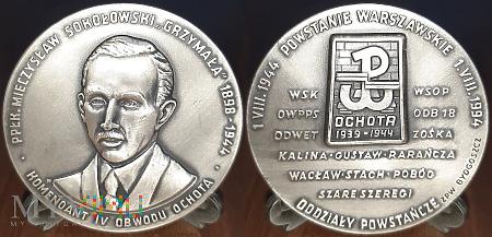 278. GRZYMAŁA - Podpułkownik Mieczysław Sokołowski