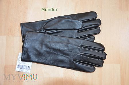 Rękawice skórzane zimowe czarne wz.964/MON