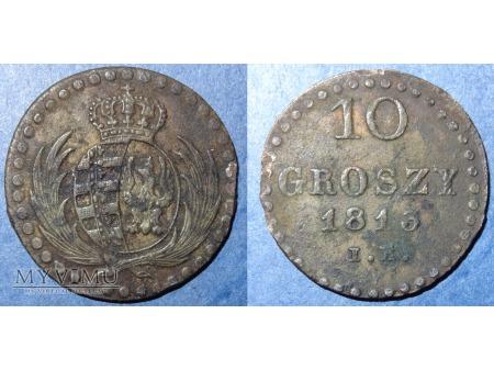 10 groszy ks.Warszawskie 1813 I.B.