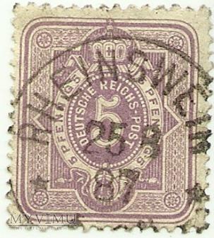 5 pfennig Rheinswein (Rańsk) 1887 r.