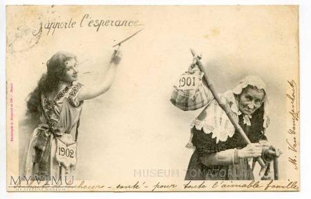 Duże zdjęcie Nowy Rok 1902
