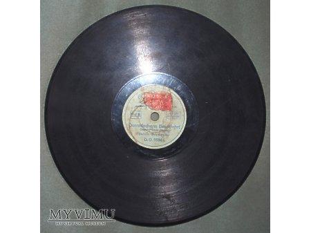 Duże zdjęcie Płyta z 1929 roku