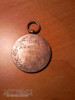 Medal Bieg dzienny Bydgoszcz