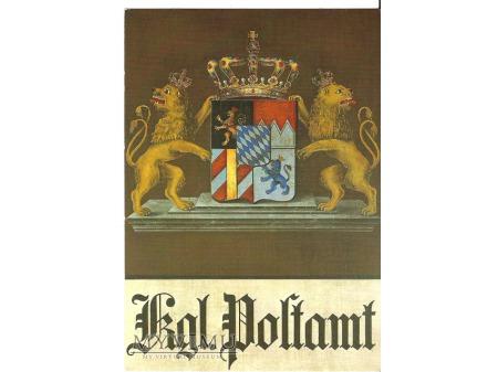 Bawarski szyld pocztowy