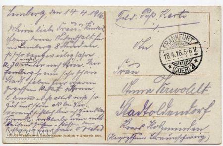 Lwów - 1916 - Kościół św. Elżbiety