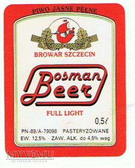 bosman beer full light