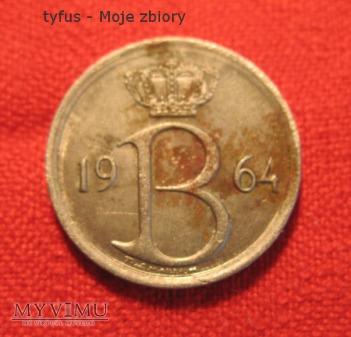 25 CENTIMES - Belgia (1964)