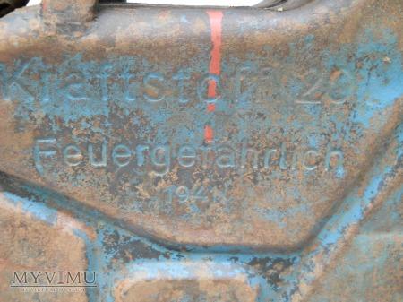 "Kanister 20L 1941 ,,AUSTRIA WIEN"""