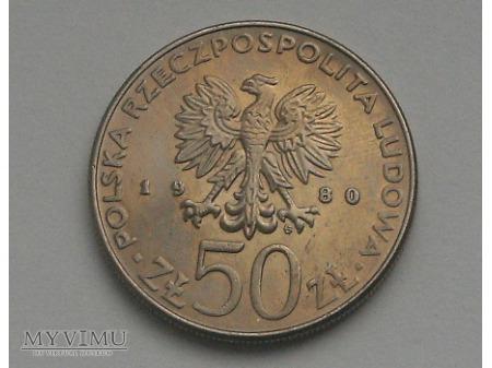 Bolesław I Chrobry, 50 zł, 1980 rok.