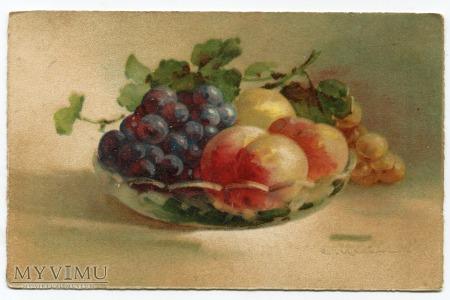 Catharina C. Klein półmisek z owocami