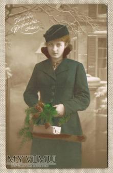 Duże zdjęcie 1910 ? Wesołych Świąt
