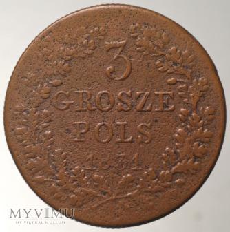 trojak 1831 bez kropki