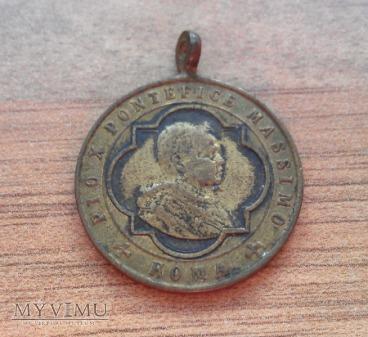 Medal Pio X Pontefice MASSIMO ROMA
