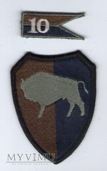 Emblemat polowy: 10 Opolska Brygada Logistyczna