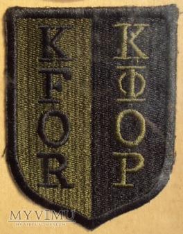 Oznaka misyjna KFOR