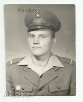 Zdjęcie portretowe: st. szeregowy WP lata 1980-83