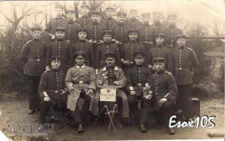2 Kompania Zapasowa K. Maszynowych Królewiec 1915
