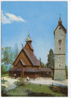 Karkonosze - Bierutowice, Świątynia Wang - 1978