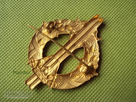 Odznaka Skidlöparmärket - wzorowy narciarz