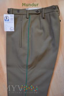 Straż Graniczna - spodnie typu narciarskiego