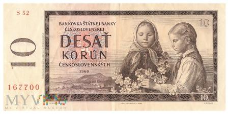 Czechosłowacja - 10 koron (1960)
