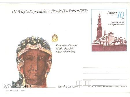 III WIZYTA PAPIEŻA JANA PAWŁA II W POLSCE 1987 8