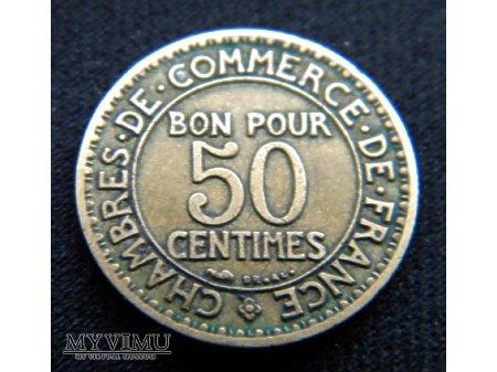 50 centimes 1923