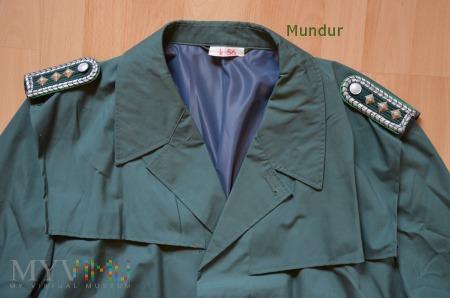 Volkspolizei -płaszcz przeciwdeszczowy Obermeister