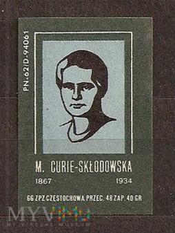 M.Cure-Skłodowska.1966.Częstochowa