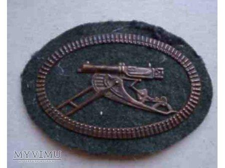 Odznaka elitarnych oddziałów karabinów maszynowych