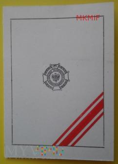Duże zdjęcie Legitymacja Brązowy Medal OSP