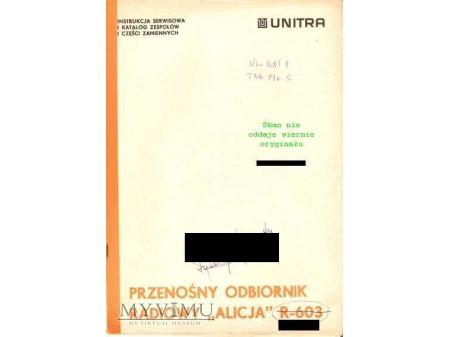 Instrukcja radia ALICJA