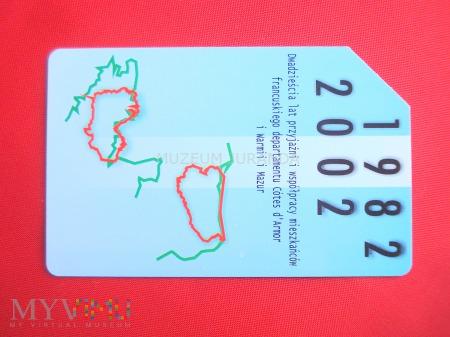 Karta magnetyczna 1328
