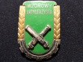 Wzorowy Artylerzysta z 1951 i 1953r