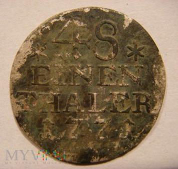 48 EINEN THALER 1771