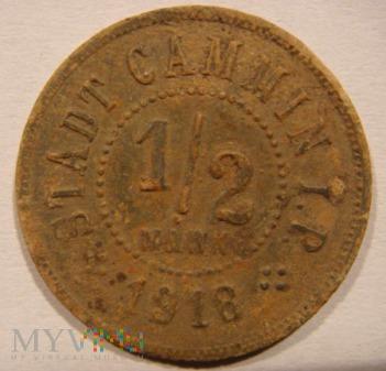1/2 Mark 1918 Stad Cammin i.P.