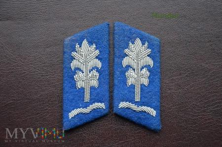 Patki szeregowych i podoficerów MO lata 80-te