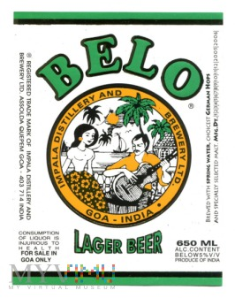 Belo lager beer
