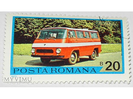 T. V. 12 M rumuński znaczek