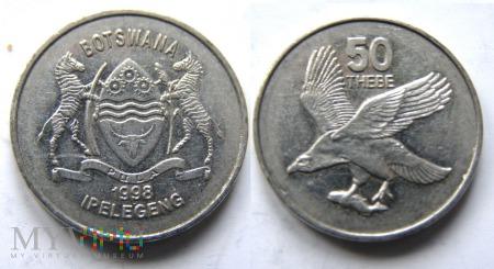 Botswana, 50 THEBE 1998