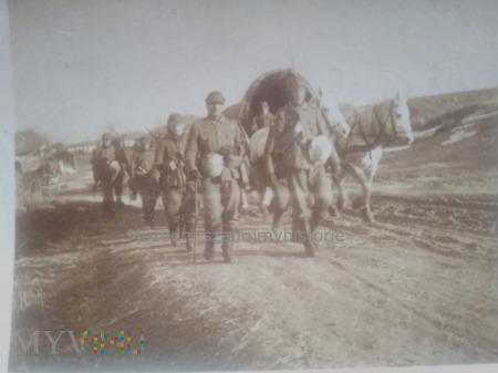 Duże zdjęcie Wehrmacht w drodze przez step