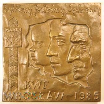 1985 - Krajowa Wystawa Filatelistyczna Wrocław 85